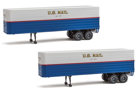 35' Trailer 2 Pack - U.S. Mail