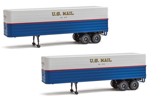 35' Trailer 2 Pack - U.S. Mail