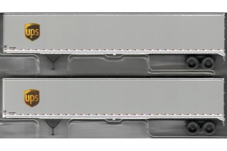 53' Trailer 2 Pack - UPS (Modern Shield)