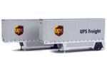 26' Drop-Floor Trailer 2 Pack - UPS (Modern Shield)