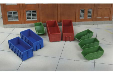 Industrial Dumpsters (8 Pack)