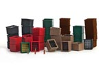 Beverage Crates & Bottles