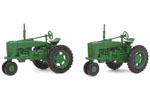 Farm Tractor 2 Pack - Green