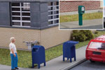 Modern Roadside and City Mailboxes