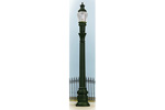 Cast Iron Column Street Lamp (2 Pack)