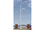 Single-Arm Tear Drop Street Lamp