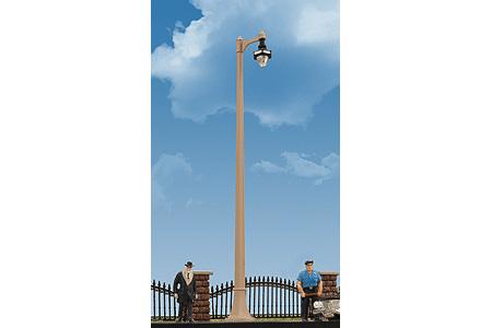 Single-Arm Acorn-Style Street Lamp