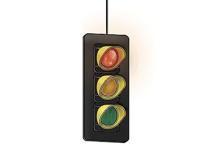 Single-Sided Hanging Traffic Light