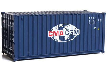 20' Corrugated Container - CMA-CGM #110217