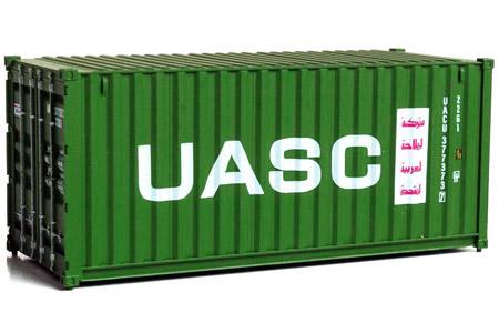 20' Corrugated Container - UASC #377373