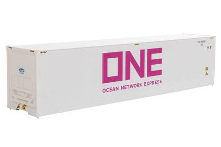 40' Hi-Cube Refrigerator Container - Ocean Network Express #582451