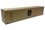 45' CIMC Container - Mediterranean Shipping Co. #950122