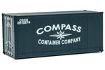 20' Smooth-Side Container - Compass Container Company #269374