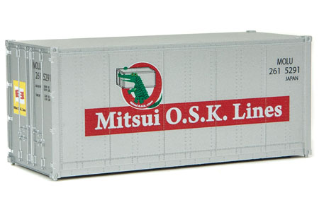 20' Smooth Side Container - Mitsui O.S.K. Lines #2615291