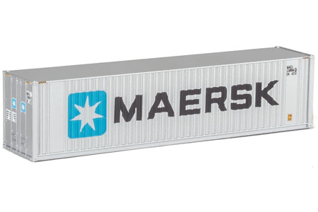 40' Hi-Cube Container - Maersk #238956