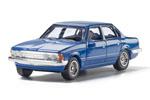 Auto Scenes® Blue Sedan