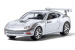 Auto Scenes® Silver Sports Car