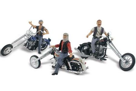 Auto Scenes® Bad Boy Bikers