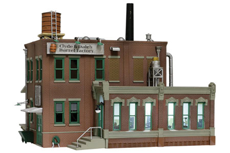 Built-&-Ready® Clyde & Dale's Barrel Factory