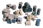 Scenic Details® Crates, Barrels & Sacks