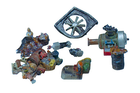 Scenic Details® Industrial Junk